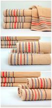 Stripes Bath Towels Cotton Fabric