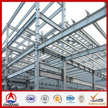 Steel Structures low cost prebuilt steel structure car shed