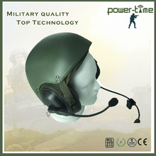 Military manpack portable msa safety helmet with flexible dynamic microphone PTE-746