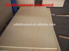 18.0mm birch veneer plywood