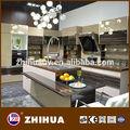 وافق ce الصين الحديثة عالية اللمعان خزائن المطبخ تصميم لوحة المصنع