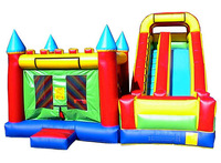 giant inflatable slide jumping combo ,inflatable combo