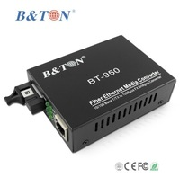 10/100M Single Fiber Single mode 20km SC catv media converter