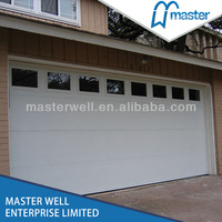 CE approved side opening garage doors