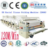 Facial tissue machine