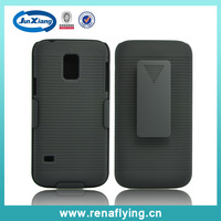 Shell Holster Combo Case for Samsung Galaxy S5 Mini with Kick-Stand & Belt Clip