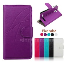 New Product Phone Cases Leather Flip Cover Case for Nokia Lumia 200