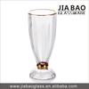 Dairy Queen glass ice cream cup,decorative sundae cupl,design ice cream cup for dessert GB1023H-MJ