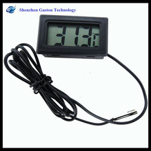 High quality LCD Digital Panel Thermometer module Original Temperature Meter Hot sale With the probe thermometer