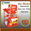 made in China eco master 7000 soil cement brick machine/clay brick machine making machine/eco brick making machine