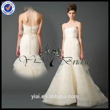 WD037 Suzhou Plus Size Bottom fold Wedding Dress Lace
