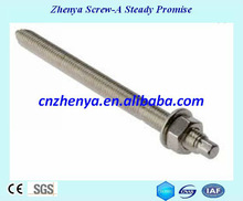 Fabbrica hilti ancoraggio chimico produttore/acciaio inox 304,316