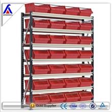 Plastic shelf bins heavy duty warehouse rack