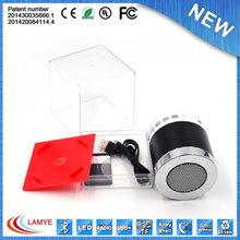 High performance usb wireless portable speaker water jet