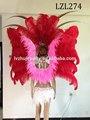 Corista/danza pluma de burlesque traje de samba lzl274
