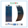 Solar Panel Flexible 5-315W With PC/Al/TPE Back Sheet For Selection