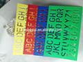 2015 nova venda direta da fábrica do oem de alta qualidade plástica régua estêncil carta de costureira régua