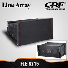 Pro 15 inch Stage Wooden Speaker Box Line Array