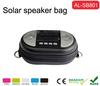 2014 top selling Mini solar speaker bag for mp3