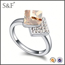 HOT SELLING!!! Newest Style Crystal stone men ring