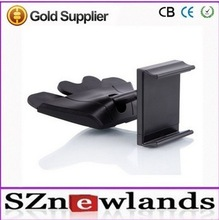 Hot selling 2014! 360 Degree rotation Universal CD Slot Car Mount Holder for cell phone in stock for wholesale with CE &Rohs