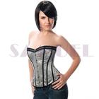 WA029 Classic embroidered xxxxxl full body sexy satin corset