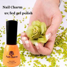 mini salon all polish hot sale uv/led gel nail polish nail charm 12ml with MSDS for nail art