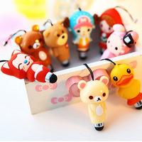 2 in 1 Cartoon Character keychain