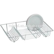 Stainless Steel Wire Construction Kitchen Dish Drainer