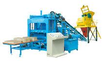 ZCJK little investment and quick economic returns for QTY4-15 concrete block machine