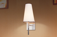 SASO thailand electrical standard brushed nickel simple headboard reading wall lamp