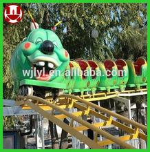 sliding worm kids ride on train