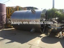 20000L steam heating mixing tank / mixer/food oil heating mixer