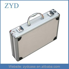 Aluminum alloy box briefcase aluminum instrument box ABS suitcase, ZYD-SY848