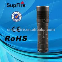 Hot sale high quality SupFire L5 aluminum waterproof green led flashlight
