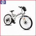 Spazzolato motore e> 60 km gamma per potenza cinese bici elettrica