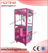 Hot sale crane game machine,pink toy machine/catching toy story toy claw machine toy claw machine