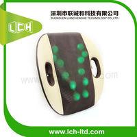 2014 Newest Hot sale Electric heated kneading auto shiatsu lumbar massage product for health care lch10047