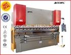 WC67Y 100T/2500 Sheet metal cutting and bending machine Hydraulic press brake