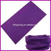 Fashion multifunctional wholesale solid bandanas BY100809