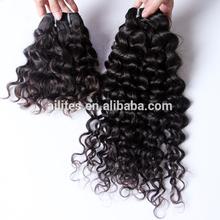 New texture full cuticle intact unprocessed malaysian italian curly futura hair