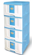 Happiness International rolling plastic storage drawers