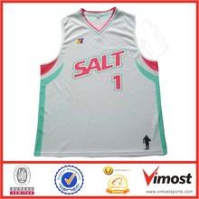 Polyester Custom Basketball Jersey Good Quality Basketball Singlets