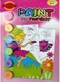 No tóxico de seguridad pintura divertido por número para los niños set, En71 pase y ASTM