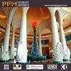 Decorative polyurethane roman stone column cover