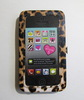 Leopard Pu Wristlet Clutch Phone Case Purse Wallet Cover With Clear Touch Window For Iphone 5 , Iphone 6 Plus , Sumsung