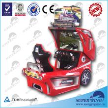 2014 superwing hot sale simulator racing car machine free games racing cars