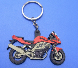 rubber motorcycle keyrings(BOX-rubber motorcycle keyrings-01)