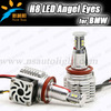 New with fans 80W H8 Led marker angel eyes 2300Lm for BMW 3-series E91 touring Face lifted (328i, 328xi) 12V led marker lights