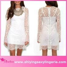2015 Wholesale Spaghetti Straps plus size sexy white club dresses